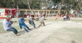 গাংনীর চেংগাড়া গ্রামে ঐতিহ্যবাহী গ্রামীন খেলাধুলা অনুষ্ঠিত