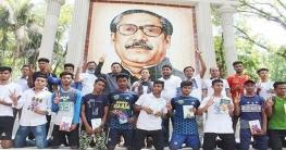 শার্শায় 'বঙ্গবন্ধু শেখ মুজিব ঢাকা ম্যারাথন' অনুষ্ঠিত