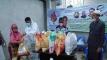 এক হাজার পরিবারে প্রধানমন্ত্রীর ঈদ উপহার পৌঁছে দিল যুবলীগ