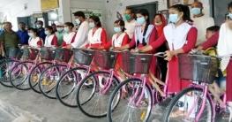 মনিরামপুরে ১০ শিক্ষার্থীর মাঝে সাইকেল বিতরণ