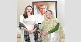 রোহিঙ্গা সঙ্কট: শেখ হাসিনার প্রশংসা করে চিঠি দিলেন জোলি
