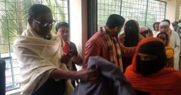 ছয় হাজার শীতবস্ত্র দিলেন সেতুমন্ত্রী