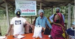 ঝিকরগাছায় প্রতিবন্ধী ২১০ শিশুর পরিবারকে এনএফআইসি'র খাদ্য সহায়তা