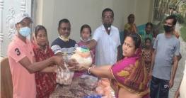কেশবপুরের ১০০ পরিবারের মাঝে খাদ্যসামগ্রী বিতরণ
