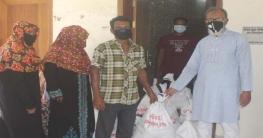 কেশবপুরে জেলা পরিষদের উদ্যোগে দুস্থদের খাদ্যসামগ্রী বিতরণ