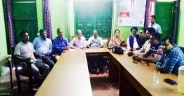 শার্শায় উপজেলা রিপোর্টস ক্লাব গঠন