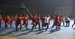 পুরুষ হকিতে চ্যাম্পিয়ন সেনাবাহিনী, রানার্সআপ নৌবাহিনী
