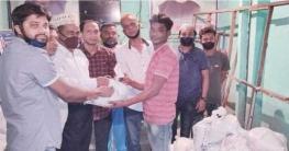 বাঘারপাড়ায় ঘরবন্দী ৭০০ দিনমজুর পরিবারের মাঝে খাদ্যসামগ্রী বিতরণ