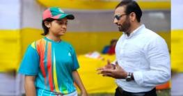 দীপ্ত টিভির ধারাবাহিক নাটকে ক্রিকেটার জাভেদ ওমর