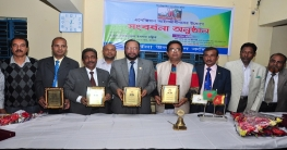 যশোর সিনিয়র জেলা জজসহ ৪জনকে সংবর্ধনা