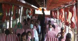 ঝিনাইদহে স্বাস্থ্যবিধি মেনেই চলছে গণপরিবহণ