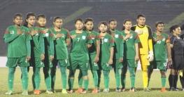 র্যাংকিংয়ে চার ধাপ পেছাল বাংলাদেশ নারী ফুটবল দল